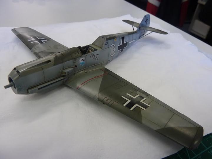Bf-109 E-3 Tamiya 1/48 - Reforma pintura P1020516