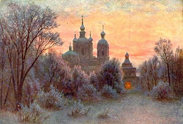 Gavril Kondratenko - Quiet Abode (Monastery)