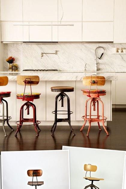 Kitchen Bar Stools With Backs