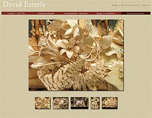 David Esterly works in the tradition of Grinling Gibbons (1648-1721