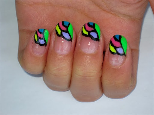Mosaic Nail Design