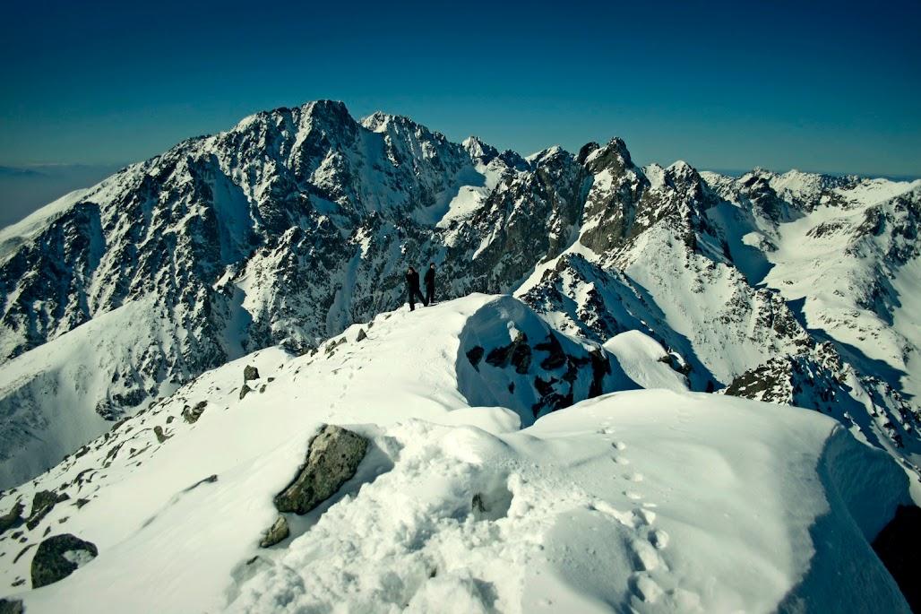 Sławkowski Szczyt widok zima