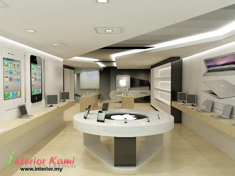 computer shop interior design home decorating ideas