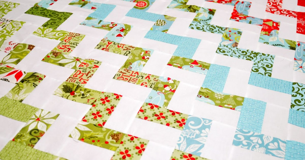 Hello Zig Zag Quilt Pattern : FREEBIES FOR CRAFTERS: Zig Zag Quilt