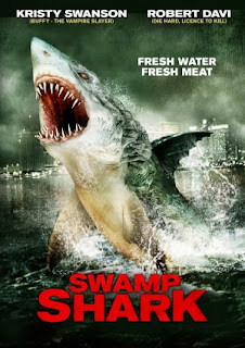 Filme Poster O Tubarão do Pântano DVDRip XviD & RMVB Dublado