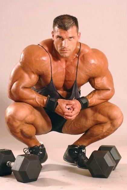 Pump Up Bodybuilding Back Stage