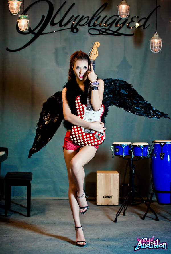 Hồng Quế quyến rũ với cánh thiên thần New Audition 10