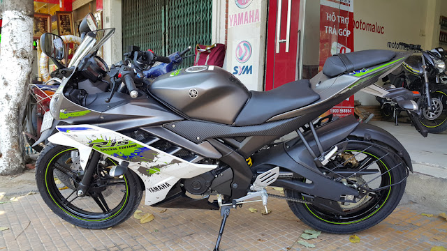 Yamaha R15 2016 Xam Trang