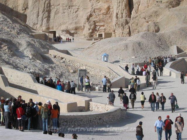 Vista del Valle de los Reyes