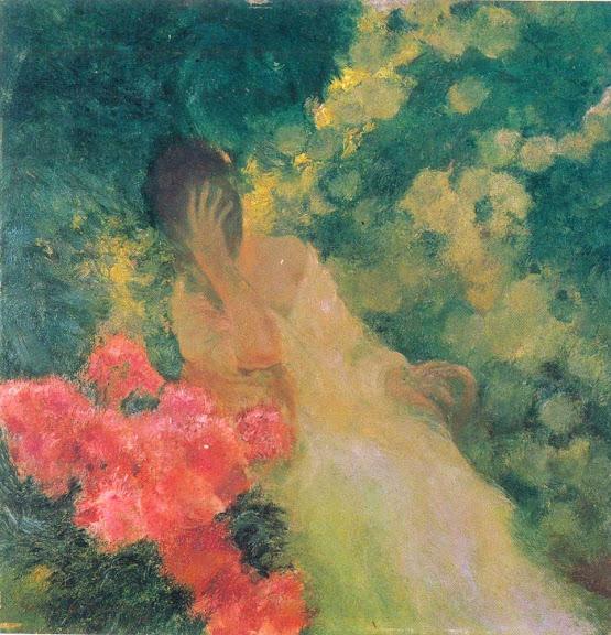 Gaston La Touche - Dans le Jardin