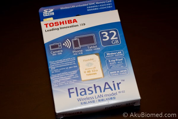 Toshiba flashair w-02