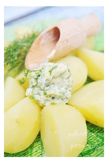 Masełko doskonałe do młodych ziemniaków