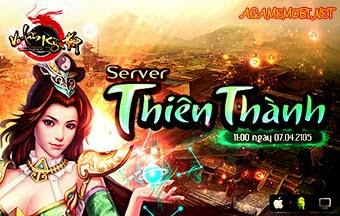 Võ Lâm Kỳ Hiệp Khai mở server mới Thiên Thành