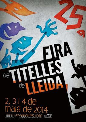 cartell 25ª Fira de Titelles de Lleida