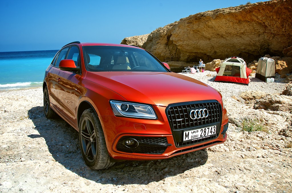 Audi Q5 to Tiwi in Oman