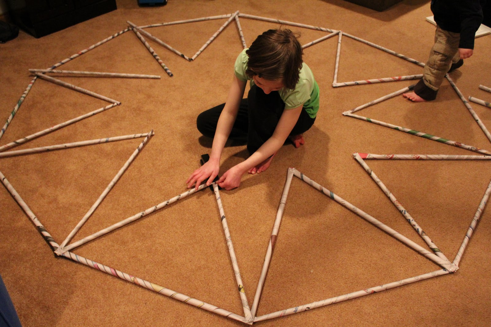 How to build a geodesic dome in 20 not so easy steps for Step by step to build a house yourself