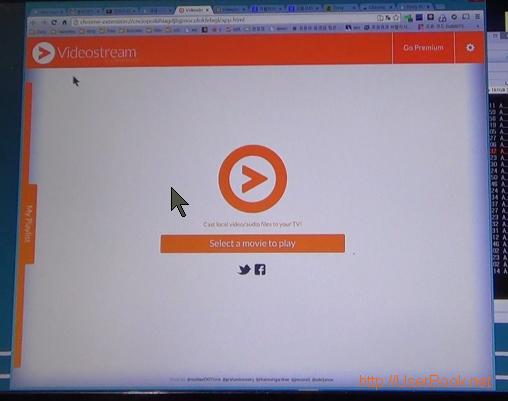 videostream for chromecast 크롬브라우저 확장 프로그램으로 PC 동영상 재생하기