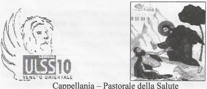 Pastorale della Salute Cappellania Azienda Sanitaria ASL 10
