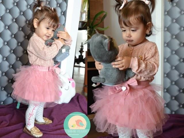 Moda infantil saia Tutu bailarina