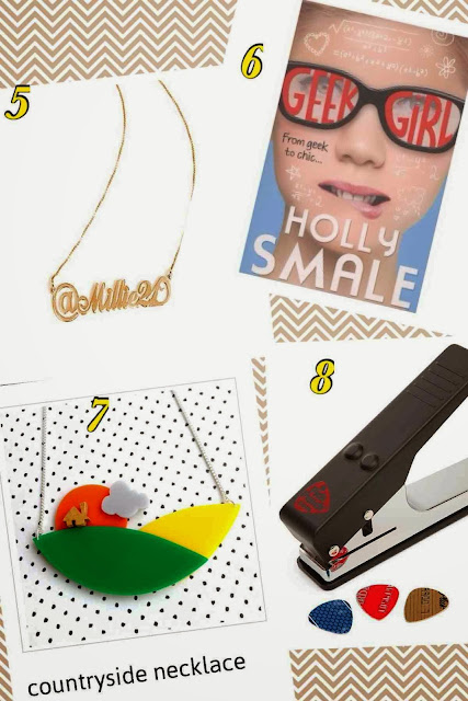 Christmas Gift Guides - Teenagers, anna lou of london, hashtag necklace, the people shop, pick punch