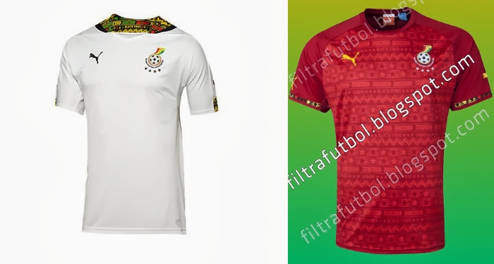 New Ghana Jersey 2014 World Cup Home & Away Kits Leaked