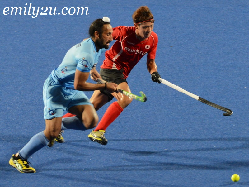 9th Asia Cup Men's Hockey Tournament 2013: India vs. Korea