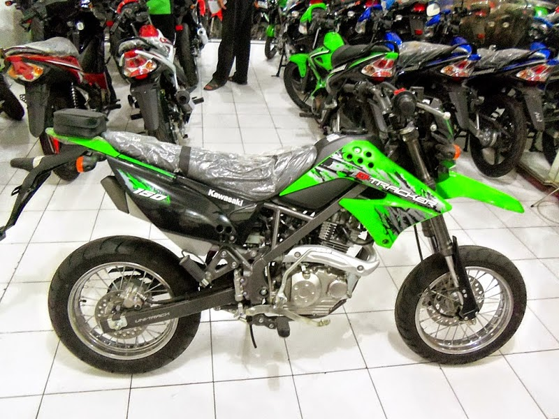 Modifikasi Motor Supra X Trail