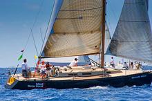 J/120 racer cruiser sailboat sailing Les Voiles St Barths