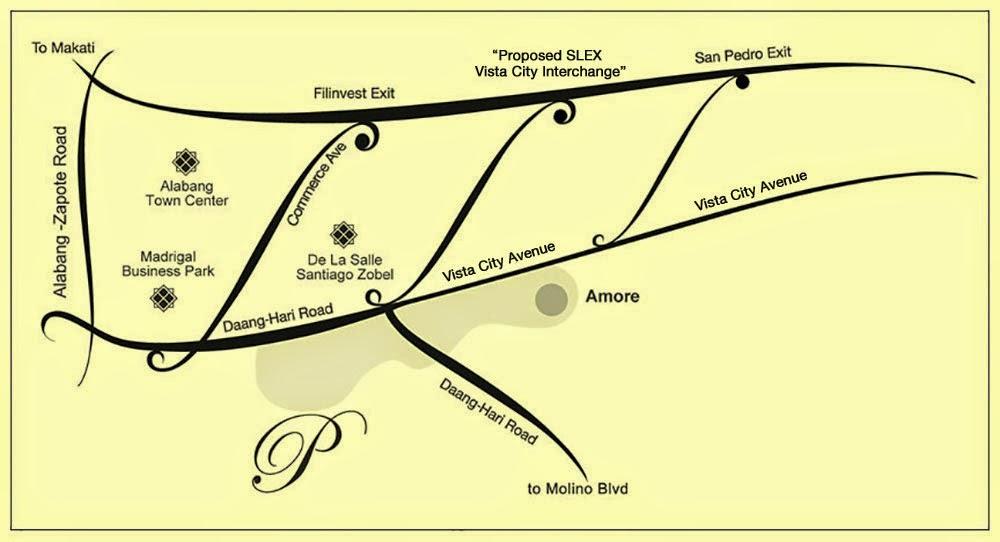 Amore at Portofino - Vicinity Map