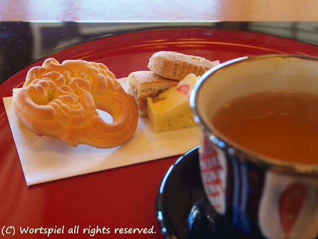 沖縄伝統菓子とさんぴん茶