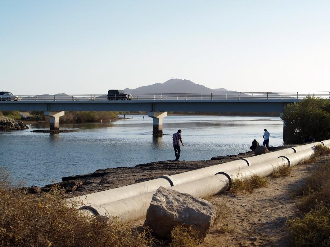 Khor Kalba beach bridge