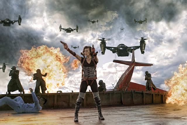 Primera imagen oficial de Resident Evil: Venganza
