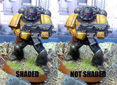 how to shade power armour