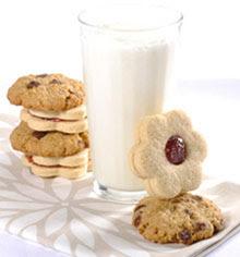 Light Oatmeal Chocolate Chip Cookies