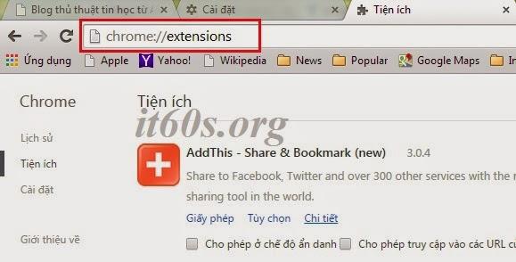 Cách khắc phục lỗi IDM Intergation trên Google Chrome 5