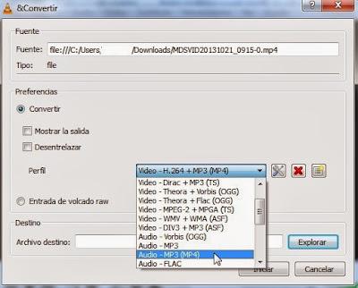 MP3 VLC