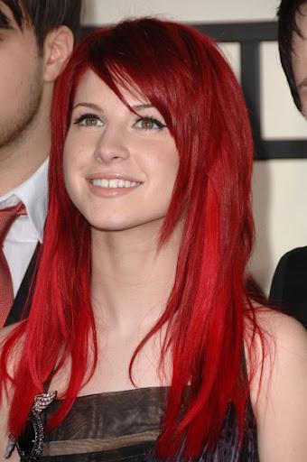 kırmızı saç resmi