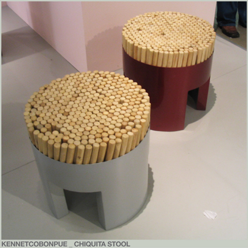 KENNETH COBONPUE - CHIQUITA STOOL