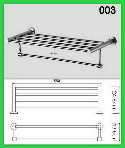 edelstahl bad handtuchhalter wandhandtuchhalter handtuch badregal wandregal matt. Black Bedroom Furniture Sets. Home Design Ideas
