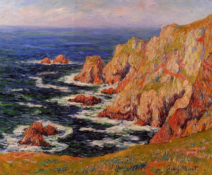 Henry Moret - Sea Coast, c. 1895
