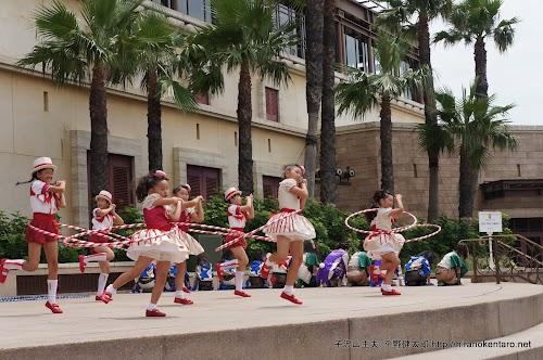 ディズニーシーで踊るアポアダンスカンパニー