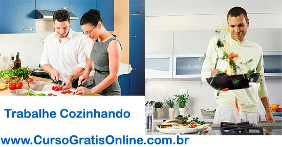 Trabalhe em casa cozinhando