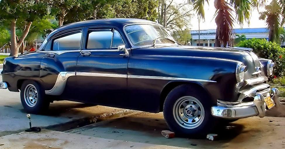 1954 Pontiac Chieftain Deluxe 4 Door Sedan Cubanclassics