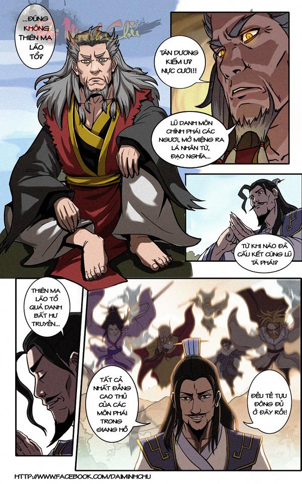 Emobi Games trình làng truyện tranh Đại Minh Chủ 6