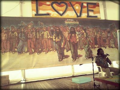 Foro social- Nuestra huella en Africa- Rototom 2013