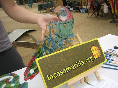 Actividades desarrolladas por La Casa Amarilla