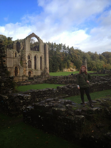 Fountains Abbey Excursion. Kaytlin Nowell #StudyAbroadBecause you deserve to have your life changed