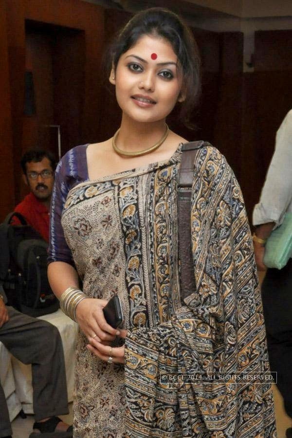 Sayani Ghosh during the press meet of Bengali Film Punascha, held at Princeton Club.