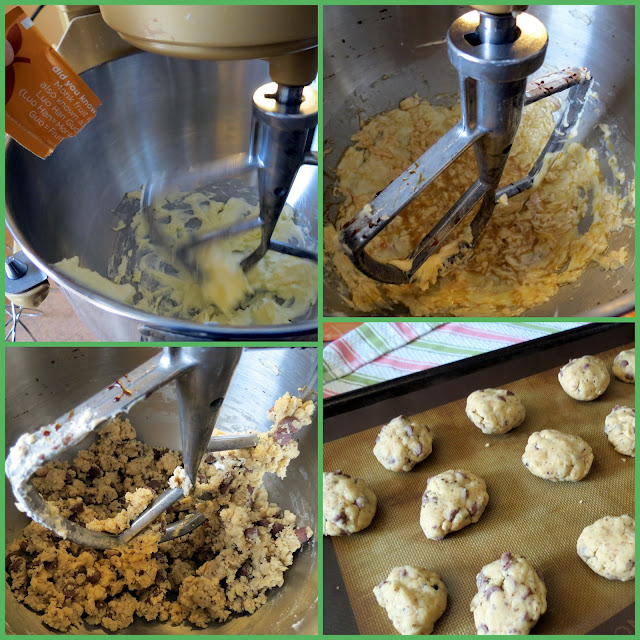 Making the cookies