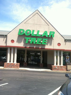 dollar tree warson woods sign parking lot stock photo